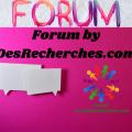 Forum by DesRecherches.com v2