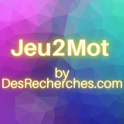 Jeu2mot by DesRecherches.com - 2