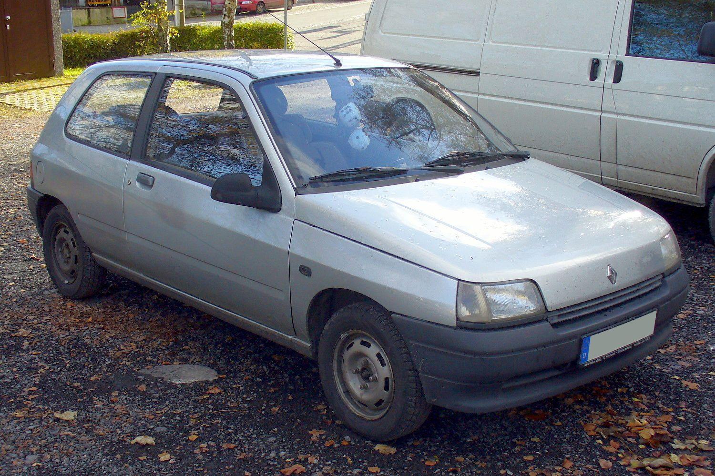 Renault Clio I - Phase I Dreitürer 1.2