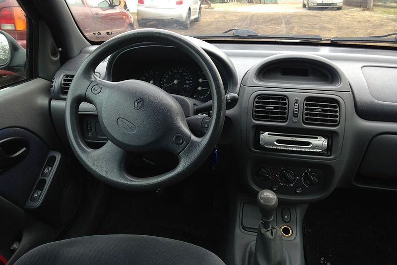 Renault Clio II - Phase I - Interior