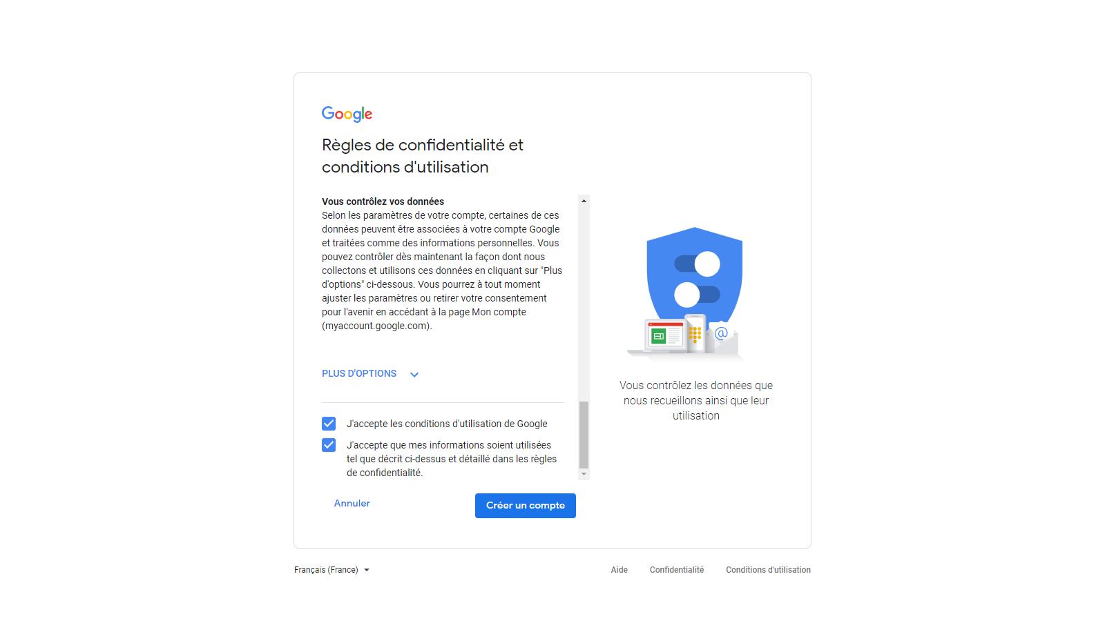 Capture d'écran - Créer votre compte Google (3)