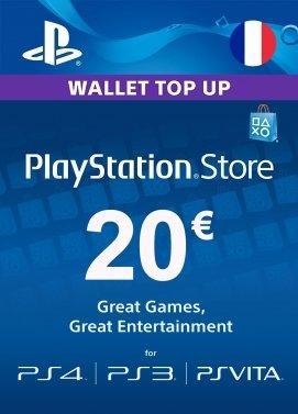 Carte Playstation Network - 20€ (France) (FR)