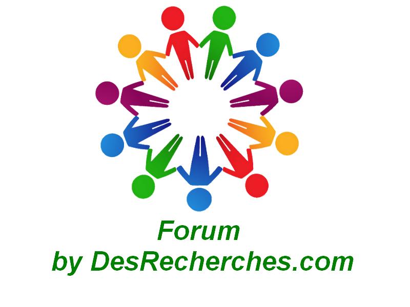Forum by desrecherches com logo officiel transparence