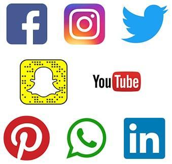Logo les chiffres des reseaux sociaux a retenir
