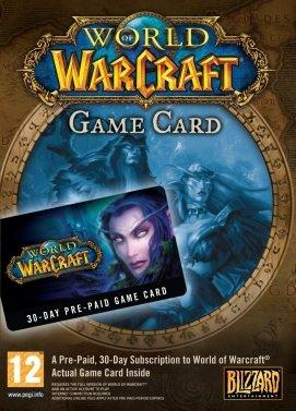 World of Warcraft - Carte 30 jours (Europe)
